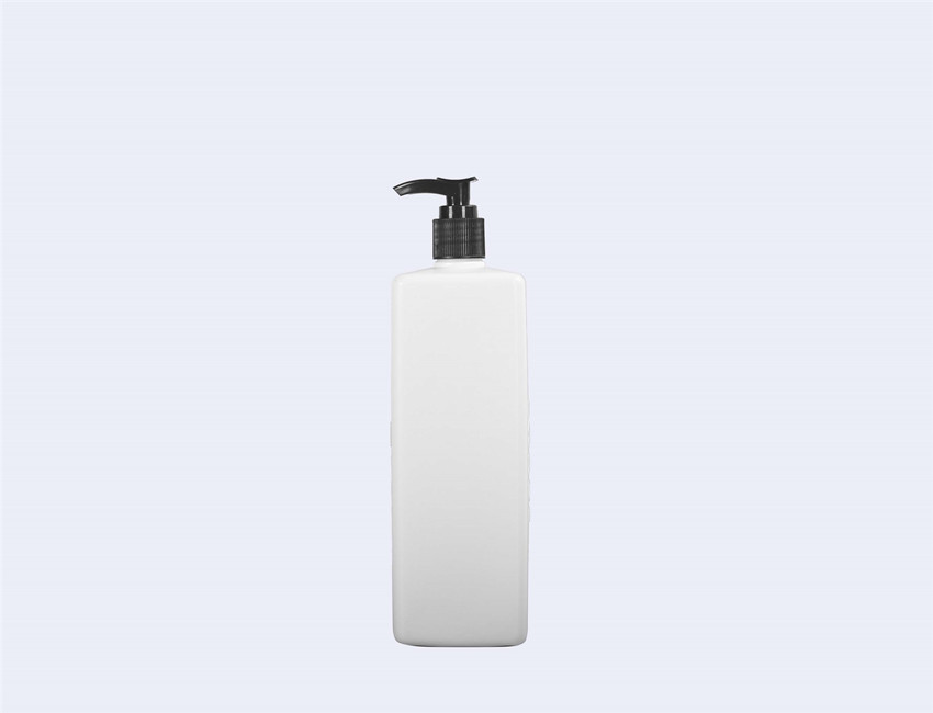 Square Plastic Pump Bottle