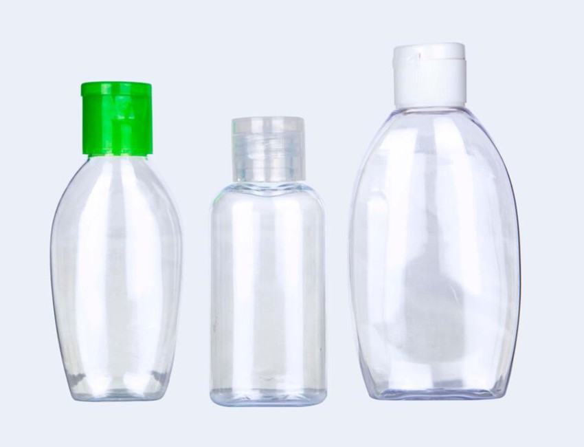 PET Sanitizer Bottles