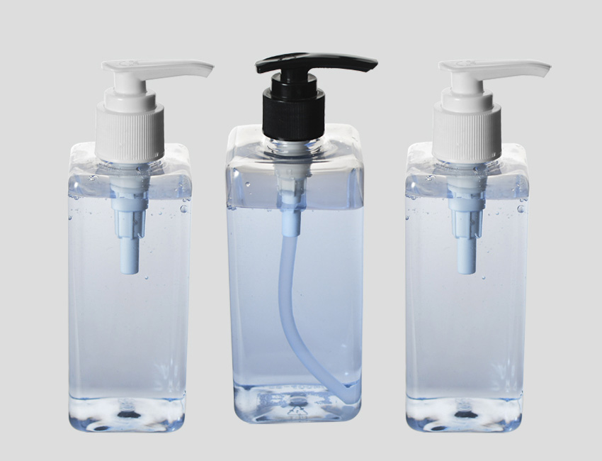 Empty Hand Sanitizer Containers