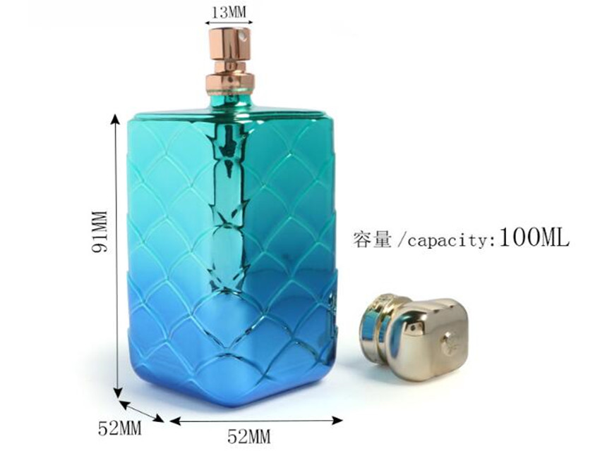 Fish Scale Perfume Bottles