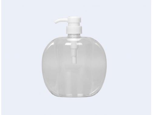 White Lotion Pump Bottle